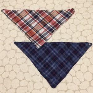 Carter's bibs in a set, bandana snap closure style
